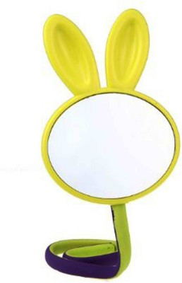 Buddyboo Kids Rabbit Cosmetic Mirror, Yellow