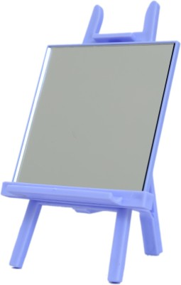 Home Genie Multifunction Mini-Easel Cosmetic Mirror & Phone Stand