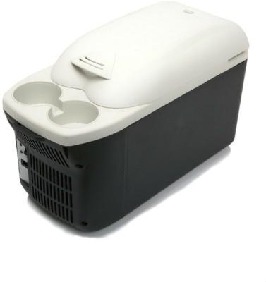 Shrih SH-0412 Portable Cooler and Warmer 8 L Car Refrigerator(Black)