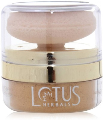 Lotus Naturalblend Translucent Loose Powder with Auto-Puff SPF-15 Compact  - 10 g