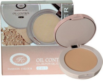 Fashion Colour Oil Control 2 In 1 Compact Powder Compact  - 20 g