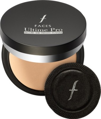 Faces Ultime Pro Second Skin Pressed Powder Compact - 9 g(Ivory 01)