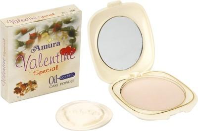 Amura Colour Cosmetics Valentine Oil Control Cake Powder Compact  - 13 g