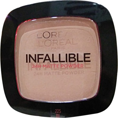 L,Oreal Paris Infallible 24h Matte Powder  Compact  - 9 g