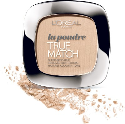 L,Oreal Paris True Match Powder Compact  - 9 g