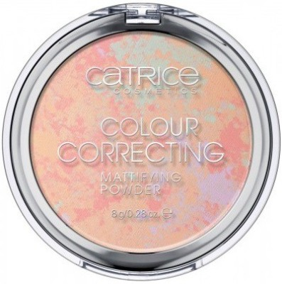 Catrice Colour Correcting Mattifying Powder 010-Delicate Blossom, Compact  - 8 g