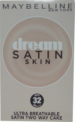 Maybeline New York Dream Satin Skin Two Way Cake PO (SPF32PA+++) Compact  - 9 g