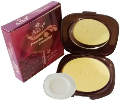 ADS New-Fashion-White-radiance-spc24-UV-protection-Face-Powder Compact  - 20 g