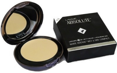 Lakme Absolute White Intense Wet & Dry Compact  - 9 g