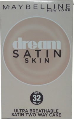 Maybeline New York Dream Satin Skin Two Way Cake O3 (SPF 32 pa+++) Compact