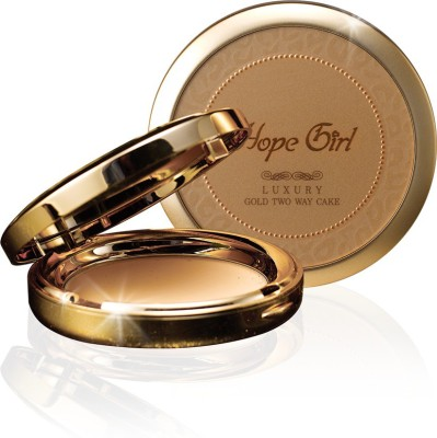 Hope Girl Luxury Gold Two Way Cake (Made In Korea) Compact  - 15 g