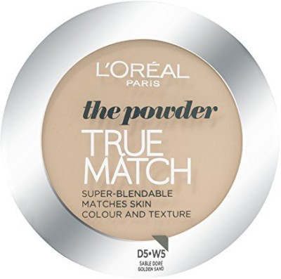 L,Oreal Paris True Match Powder D5 W5 Compact  - 9 g