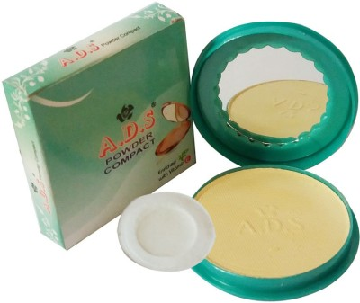 ADS New-Fashion-Creates-A- Natural-and-Fresh-appearance-onyourface-face-Powder Compact  - 14 g