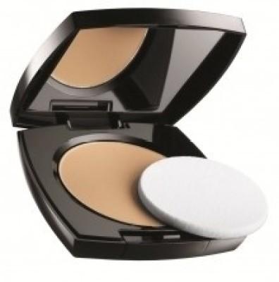 Avon Ideal Luminous Pressed Powder (Medium Wheat) Compact  - 11 g