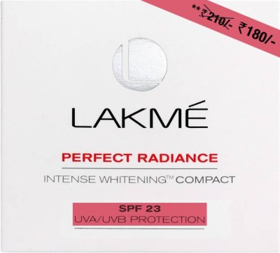 Lakme Perfect Radiance Intense Whitening Compact - 8 g(Golden Medium 03)
