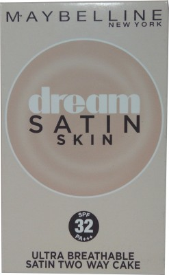 Maybeline New York Dream Satin Skin Two Way Cake B2 (SPF32PA+++) Compact  - 9 g