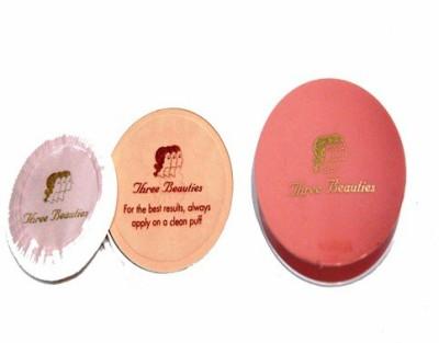 Three Beauties Cream Powder Compact  - 20 g