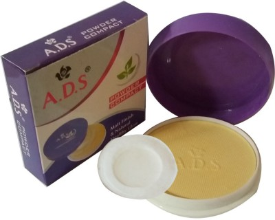 ADS New-Fashion-Matt-Finish-and-Natural-Healty-Glow-Face-Powder Compact  - 18 g