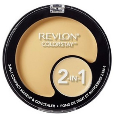 Revlon ColourStay 2 In 1 Concealer & Compact - 12.3 g(beige)