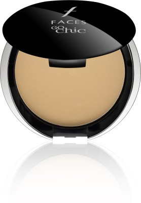 Faces Go Chic Pressed Powder Compact  - 9 g