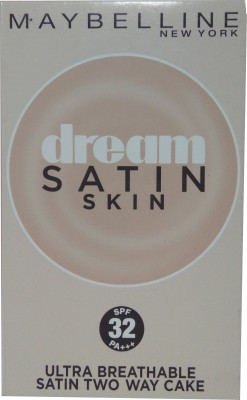 Maybeline New York Dream Satin Skin Two Way Cake PO3 (SPF 32 PA+++) Compact