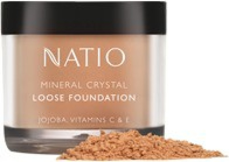 Natio Mineral Crystal Loose powder Foundation Compact  - 10 g(Sand)