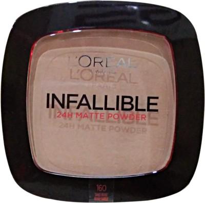 L,Oreal Paris Infallible 24h Matte Powder  Compact  - 9 g