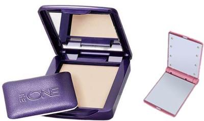 Oriflame Sweden The One Illuskin Powder With Smart Pocket Mirror Compact - 8 g(Medium)
