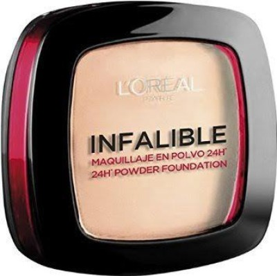 L,Oreal Paris Infaillible 24H Powder Foundation Compact  - 9 g