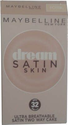 Maybeline New York Dream Satin Skin Two Way Cake PO1 Compact  - 9 g