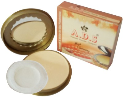 ADS New-Fashion-Smooth-and-shine-all-day-freshness-miss-charming-face-powder Compact  - 14 g