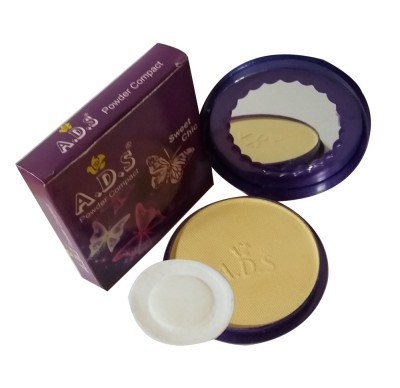 ADS New-Fashion-Creates-A- Natural-and-Fresh-appearance-onyourface-sweet-chic-face-Powder Compact  - 14 g