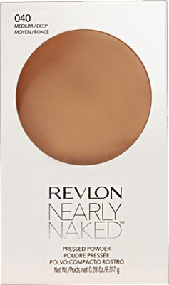 Revlon Nearly Naked Pressed Powder Compact - 8.017 g(MEDIUM - 040)