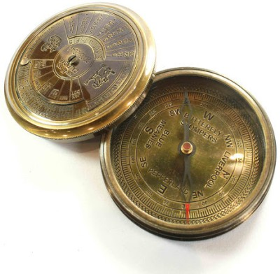 Prachin With 40 Years Calander Compass