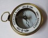 NAUTICALMART Spencers Brass Compass Naut...