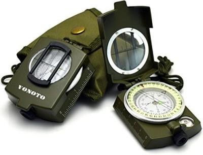 VONOTO Metal Sighting Compass Compass(Green, White, Yellow)