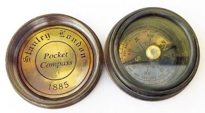 Kartique 1.5 Inch Brass Compass
