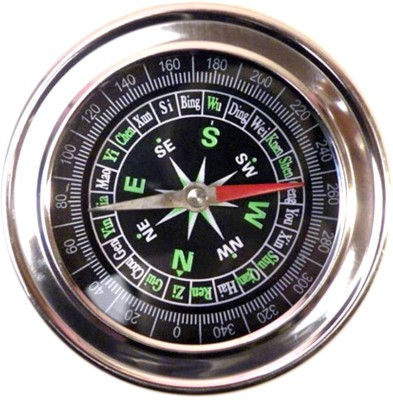 SJ Metal Military Magnetic Compass(Multicolor)