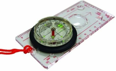 Ultimate Survival Technologies Deluxe Map Compass Compass(Multicolor)