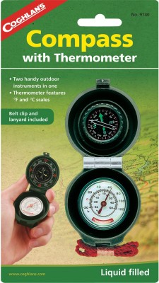 CoghlanS Compass thermometer Compass