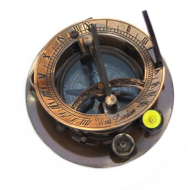 Shree Sai Brass Made Antique Handicraft Compass