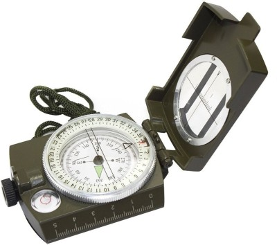 Udee Military Lensatic Prismatic Army Green Camouflage Matte Compass(Green)