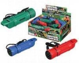Toysmith Combo Survival Compass Compass(Multicolor)