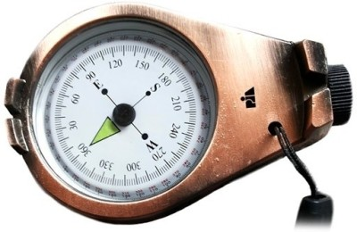 Pia International Prismatic Copper Compass(Brown)