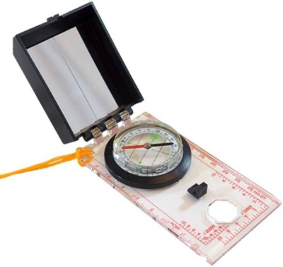 Pia International MIRROR WITH SCALE Compass(Multicolor)