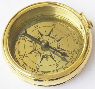 Kartique 2 Inch Camping Compass(Gold)