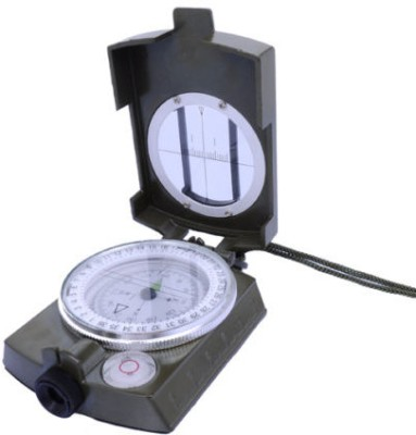 Zingalalaa Prismatic Magnetic Weslinger Metal Compass Military + Tripod Stand Compass