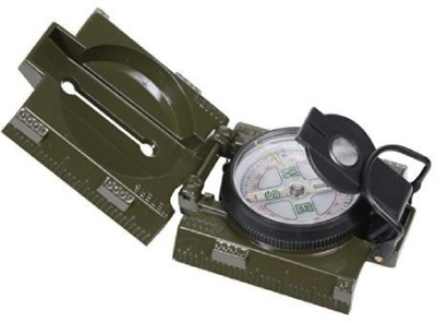 Rothco Military Marching Compass & LED Light Compass(Green, Black)