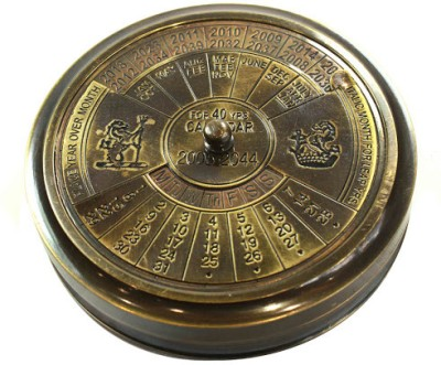 Prachin With Calander And World Timer Compass