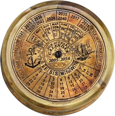 Shree Sai Brass Calender Pokket Handicraft Compass